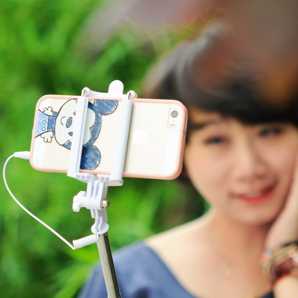 selfie stick for ios android smartphones 21 to 77cm 6cm to 9 5cm phone c. Black Bedroom Furniture Sets. Home Design Ideas