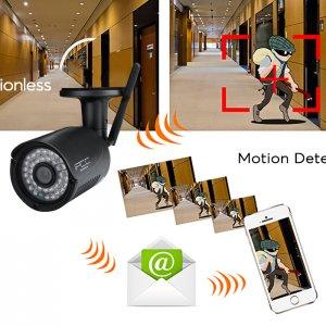 wireless outdoor IP camera appliance