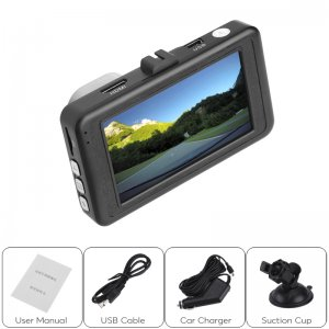 a car DVR with additions