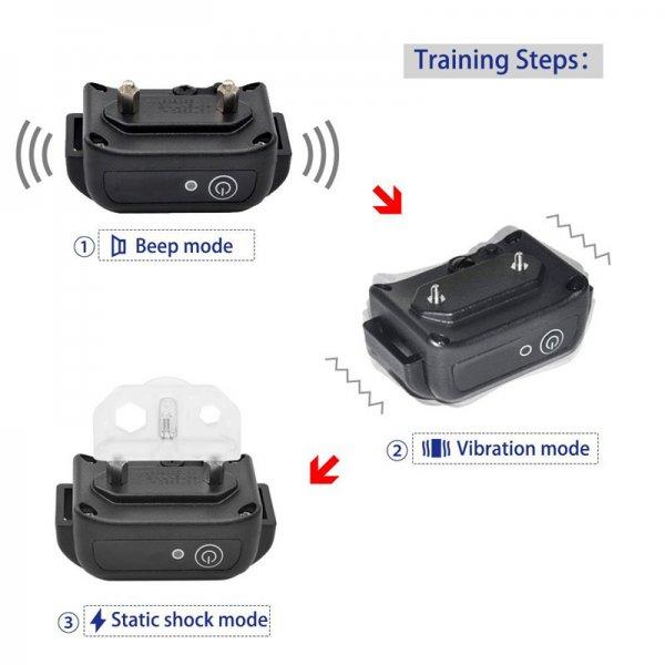 dog trainer collar different modes