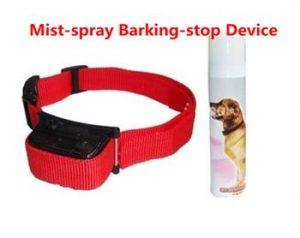 collar and a spray
