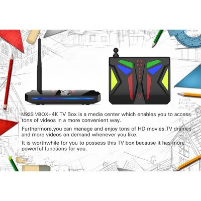 android TV box M92S with specifications