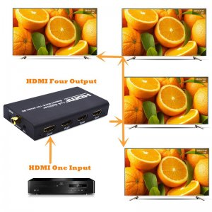 HDMI converter with oranges pictures