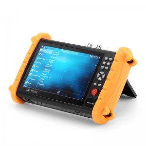 surveillance camera tester with orange brackets