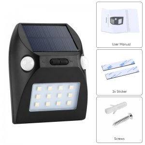 outdoor led light with additions