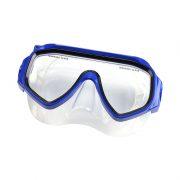 blue swim goggles