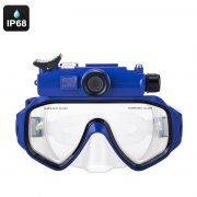 bue camera goggles front view
