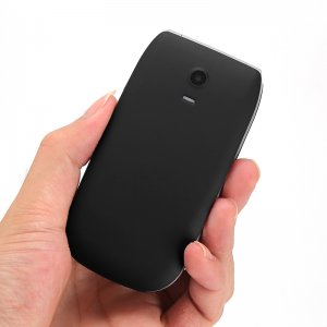 black cell-phone back view