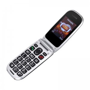 opened cell phone