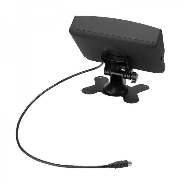 4-Channel Car DVR-display