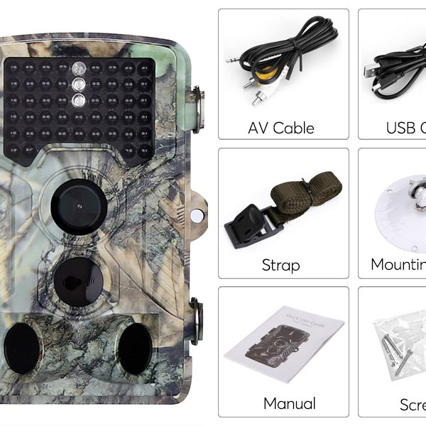 1080p Trail Camera – 2.31-Inch Display