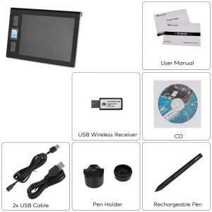 Wireless Graphics Tablet -set