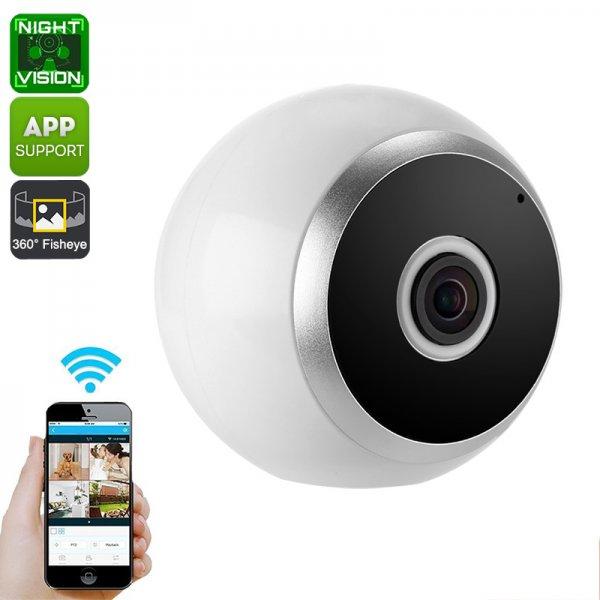 360-Degree IP Camera