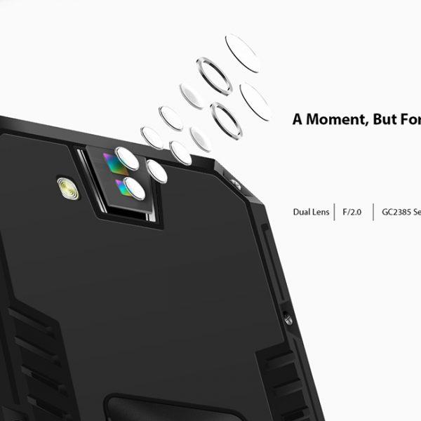 Rugged phone camera