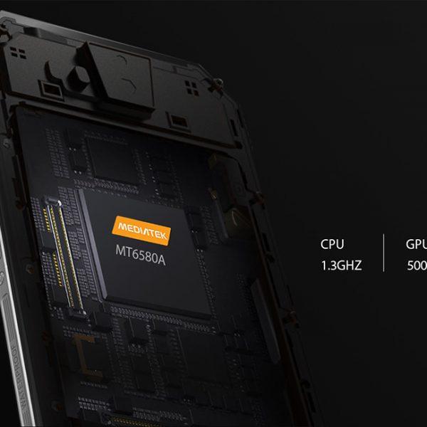 Rugged phone insides