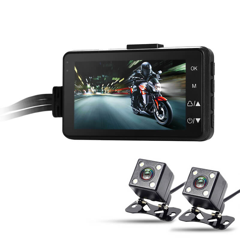 motorcycle camera photo  Dual Camera Motorcycle DVR - CTS Systems