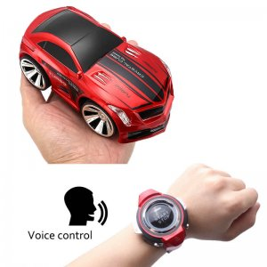 Voice control rc car wireless watch control english voice commands