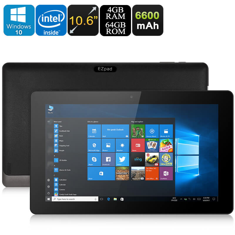 ezpad 4s pro windows tablet pc cts systems. Black Bedroom Furniture Sets. Home Design Ideas