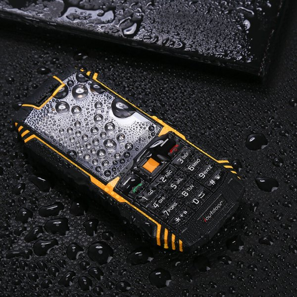 Rugged waterproof phone