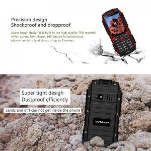 Rugged waterproof phone