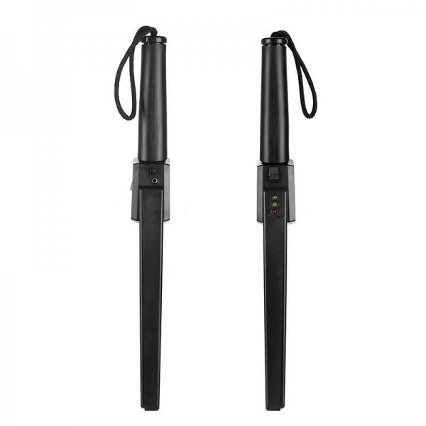handheld metal detector led light sound alarm