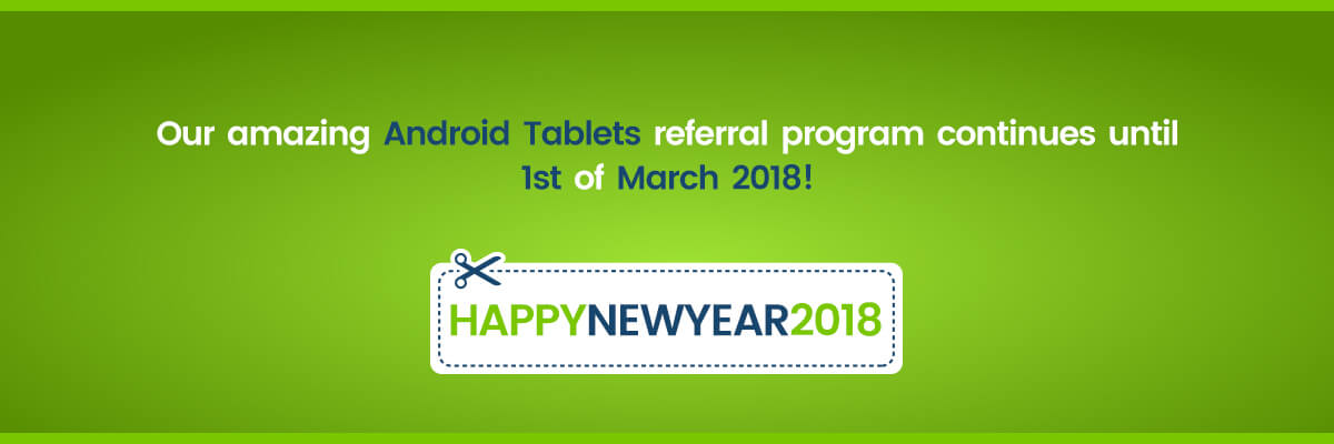 android referral program banner