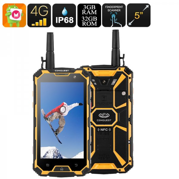 32GB Rugged Smartphone