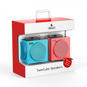 Twin Cube Stereo Speakers
