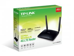 TP-Link™ 300Mbps 4G Router