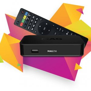 MAG 256 IPTV Set Box