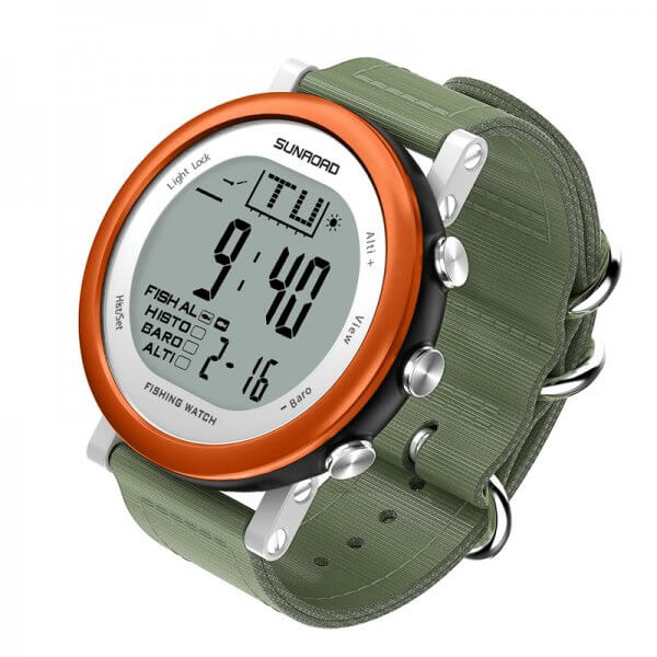 Fishing Barometer Watch FR721 Digital 5ATM