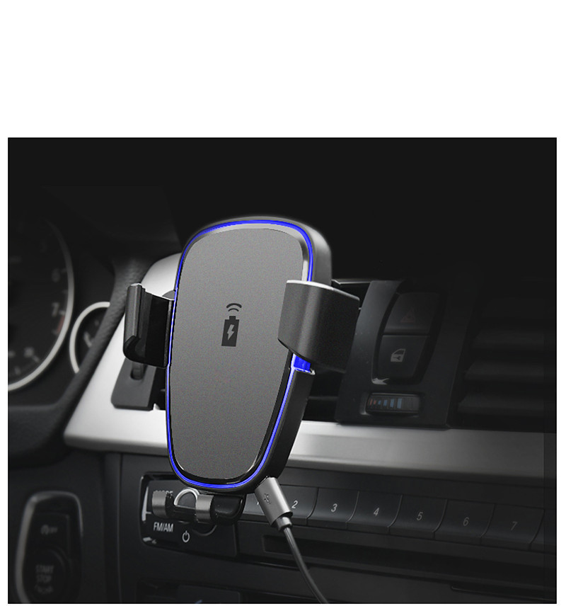 Wireless Smartphone Charger Car Phone Holder Cts Systems