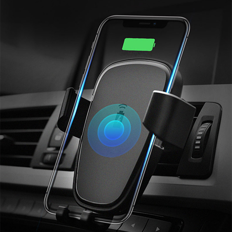 How To Charge A Car Battery Without A Charger >> Wireless Smartphone Charger - Car Phone Holder - CTS Systems