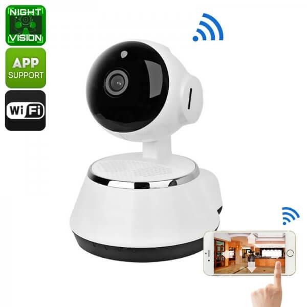 Wireless IP Camera - HD CMOS, 720p, SD Card Recording -CTS