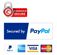 list of all the payment methods accepted. Includes Paypal, Mastercard, Visa, Maestro, and
