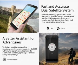 BlackView BV5500 dual satellite system