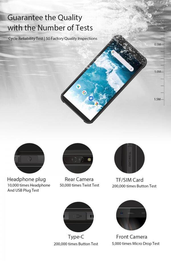 BlackView BV5500 waterproof